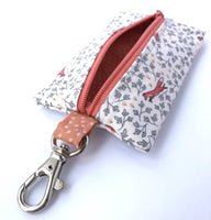 *SALE* Carly Pouch - Red Foxes