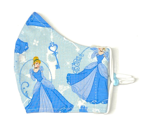 Adult Face Masks - Small/Teen - Cinderella