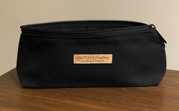 Canvas Pencil Case - Black
