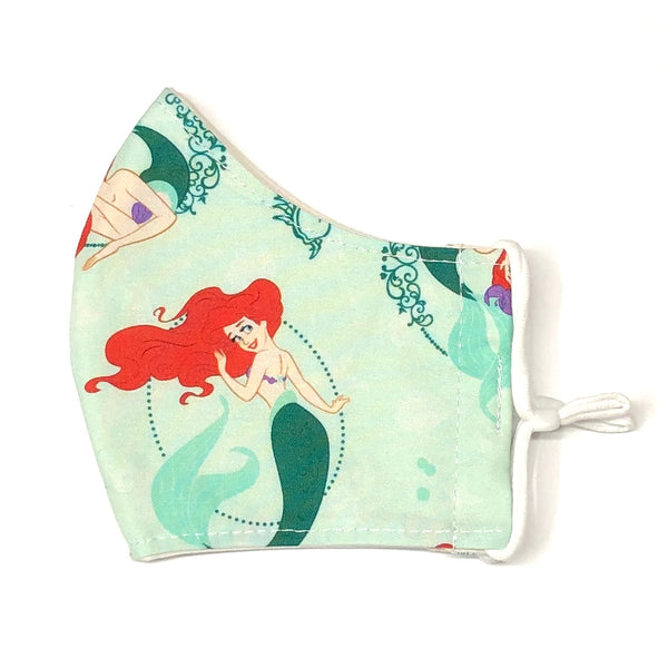 Adult Face Masks - Small/Teen - Ariel (Little Mermaid)