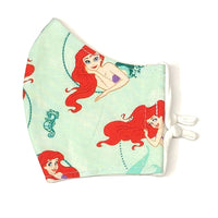 Youth Face Masks (7-12 yrs) - Ariel (Little Mermaid)