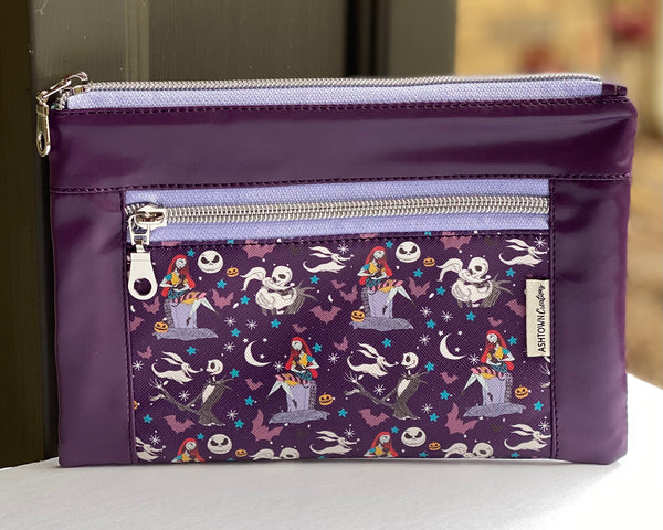 Devon Pouch - Regular - Nightmare Before Christmas Vinyl