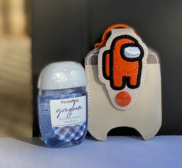Hand Sanitizer Holders - Among Us - Orange