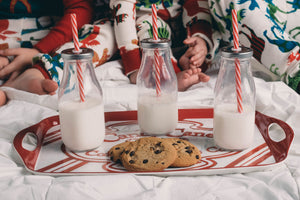 Tasty Good Recipes: Cookies for Santa - Chocolate Chip Cookies with Tasty Good Toffee Bits