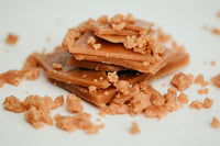 Tasty Good Toffee Toffee Bits :: Small batch, handmade in Lincoln, Nebraska. Buy Toffee Bits