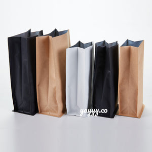 Different sizes, colors' Flat Bottom Bag