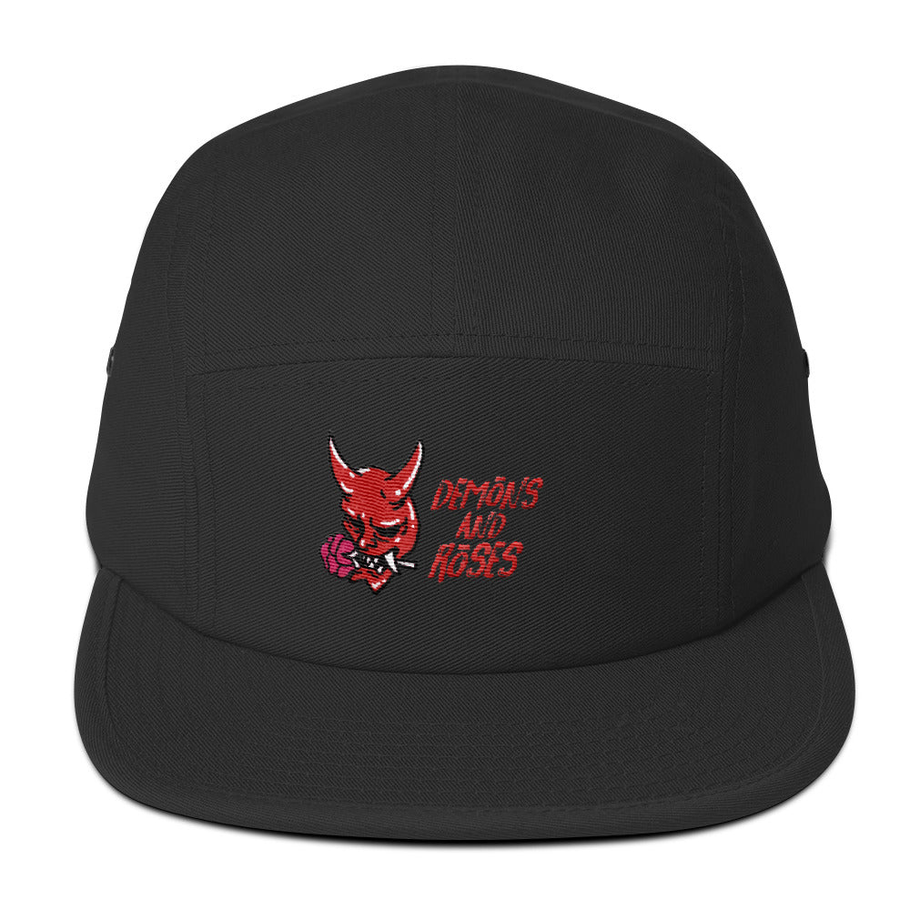 5Panel - Demons And Roses (3Colors)