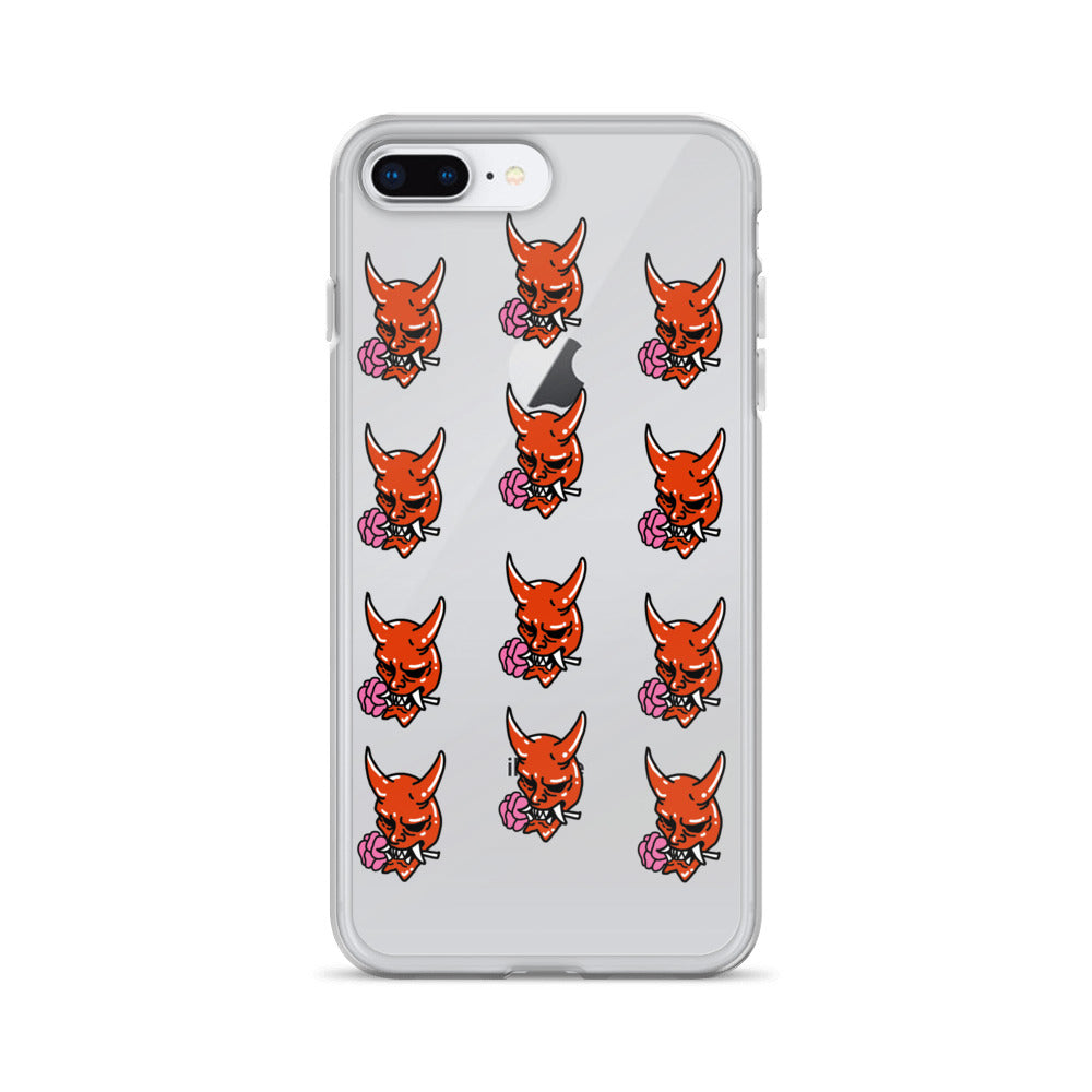 Demons And Roses - Iphone Cases