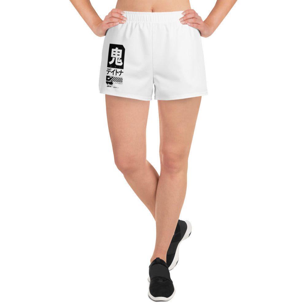 Women's Tech Shorts // Kashmir White - Infinite Oni
