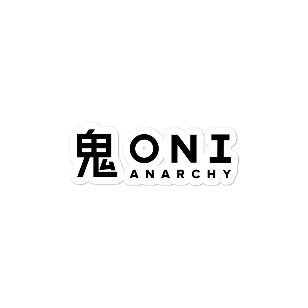 Sticker - ONI ANARCHY V.1