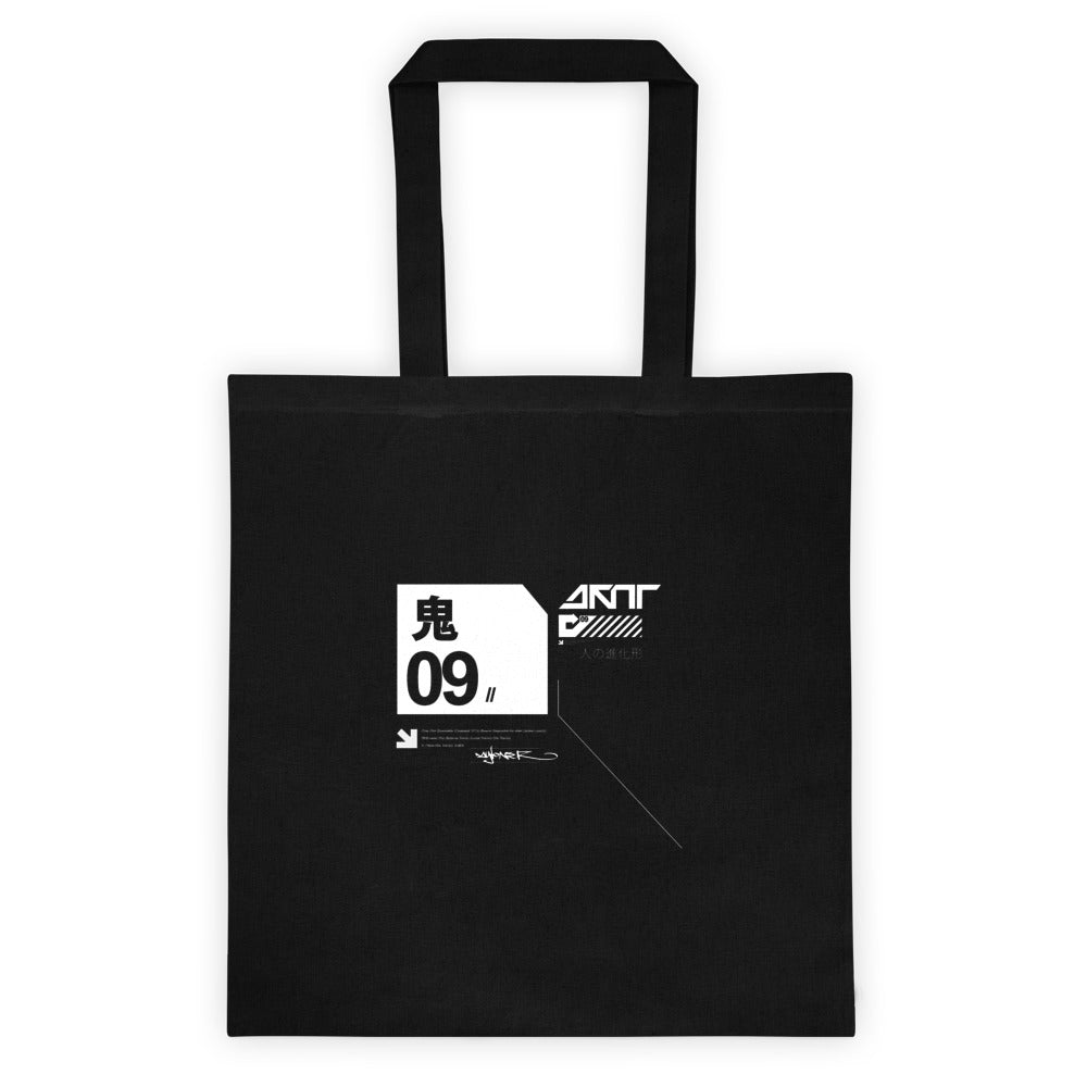 Tote bag //  Nightmare Black - [ 09 ]