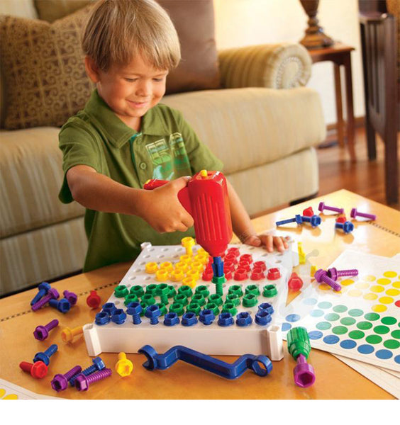 Kid-friendly tools to drill, design, build & play