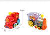 Domino dominoes electric Thomas little train blocks, Puzzle Children Toys