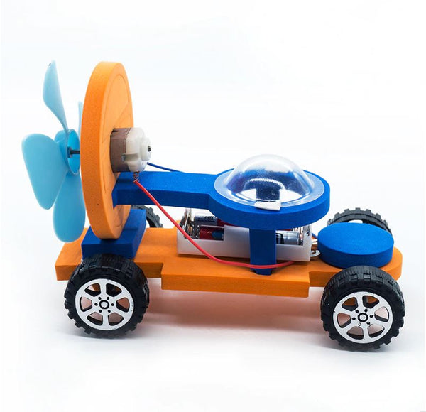 Educational DIY Wind Powered Car - STEM Toy