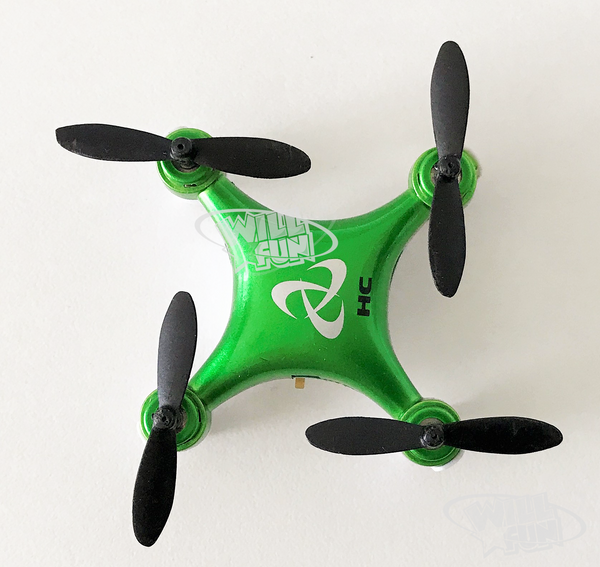 Mini Quadcopter 6-Axis Gyro. Fast and Fun