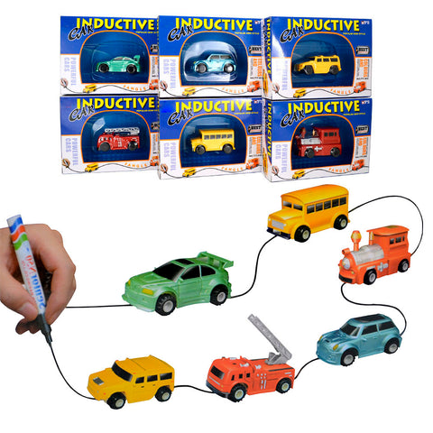 Magic Inductive Toy  Cars