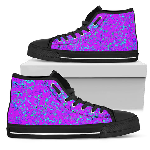 Womens High Tops Purple Craze