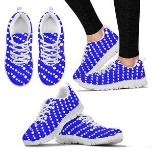 Womens Sneakers Blue Floating Bubble Collection