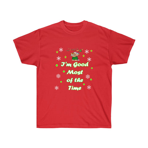 Womens Cotton Tee Christmas Party Shirt