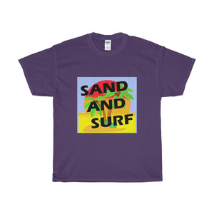Unisex Cotton Tee SAND AND SURF