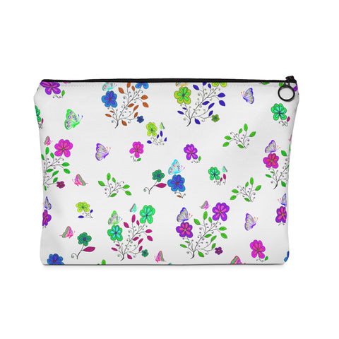 Carry All Pouch Butterflies And Flowers