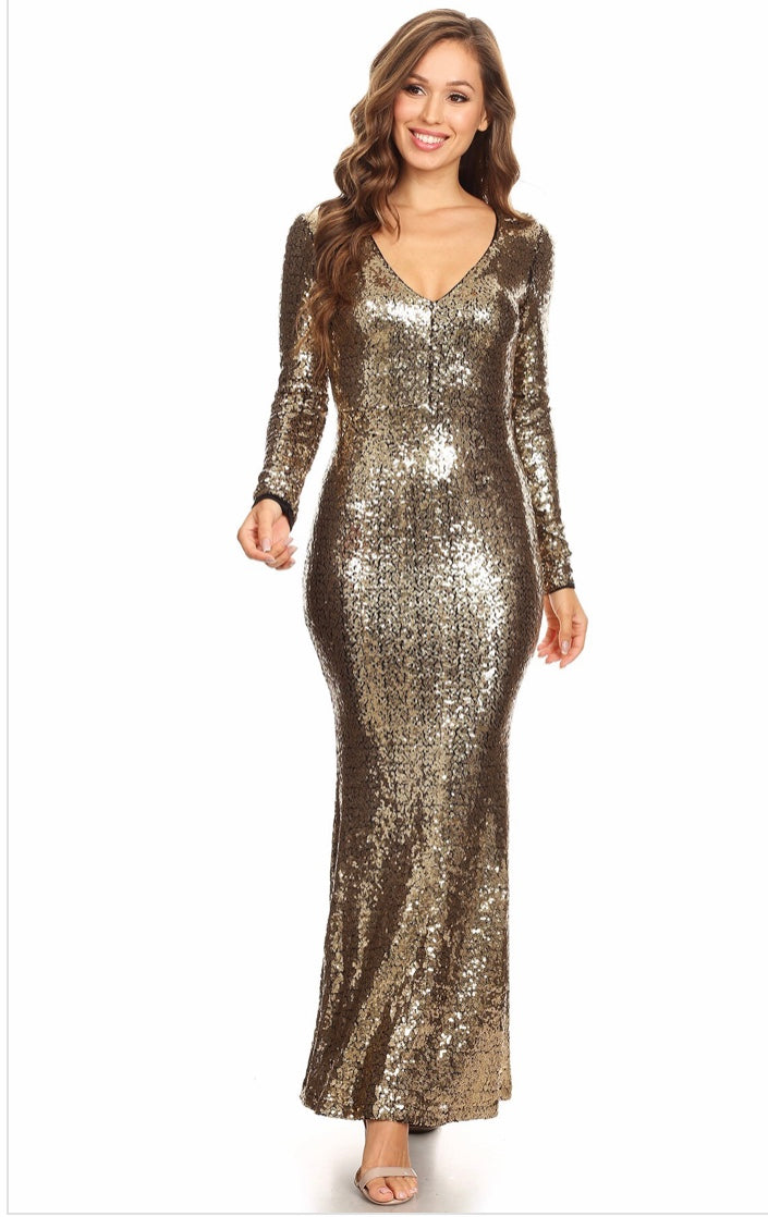 Leena's Sequin Dress