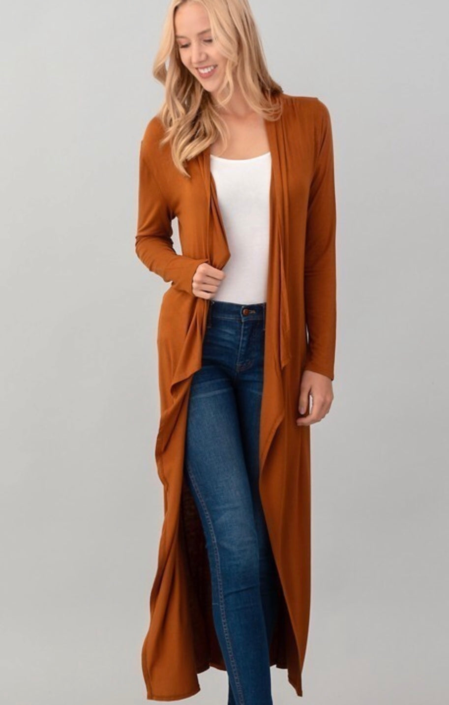 Sarah's Long sleeve Stretchy Cardigan