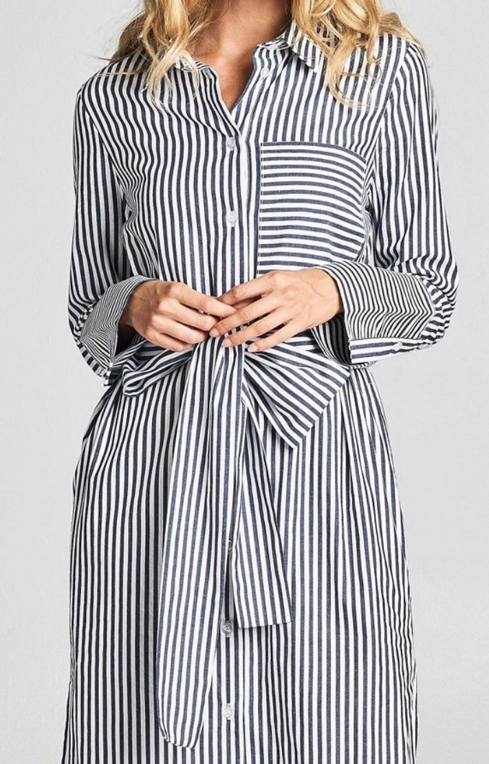 Sameera's Striped Dress Shirt