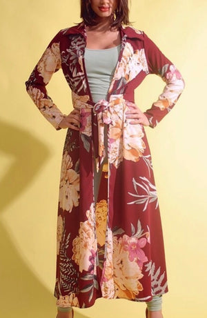 Mya's Floral Wrap Around