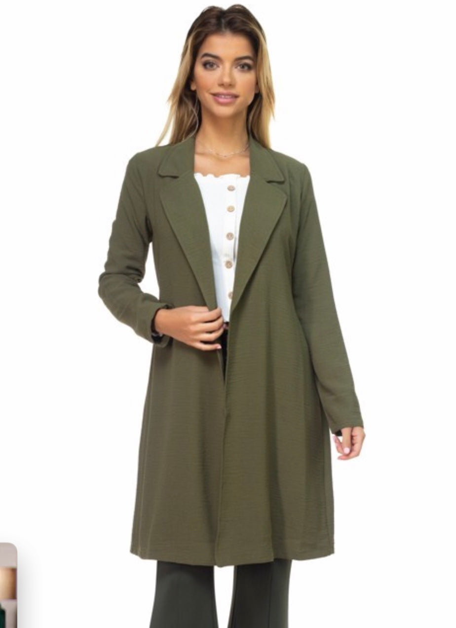 Nisi's Long Sleeve Jacket with Belt