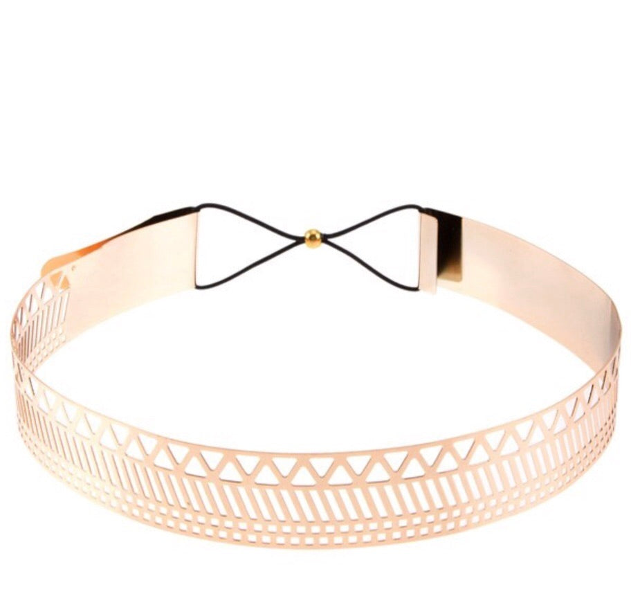 Geometric Metal Belt
