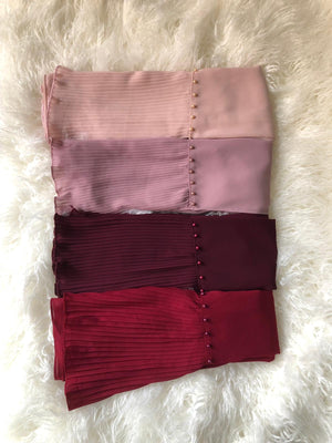 Pleated Edge Scarf