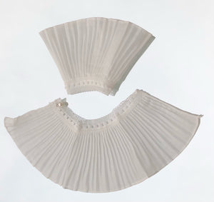 Pleated Cuff Sleeves