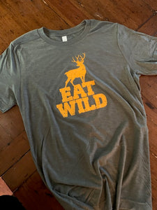Eatwild T-Shirt - Heather Green
