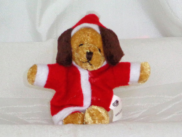 Stuffies bulk pack of 30 - Christmas Pup