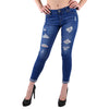 Wax Jean's I love you medium wash