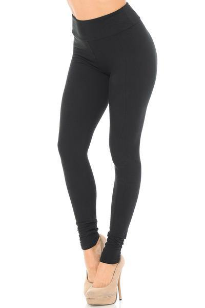 Black 3 inch waist butter soft Leggings