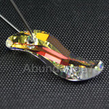 1 pcs Swarovski Crystal Pendants 6525 Wave Pendants 28mm Crystal Clear AB - New