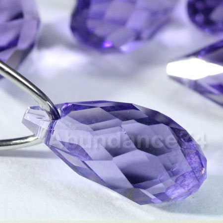 Swarovski Crystal Pendants Briolette Pendant Teardrop 6010 TANZANITE - Available in 11mm and 13mm ( Chose Quantity)