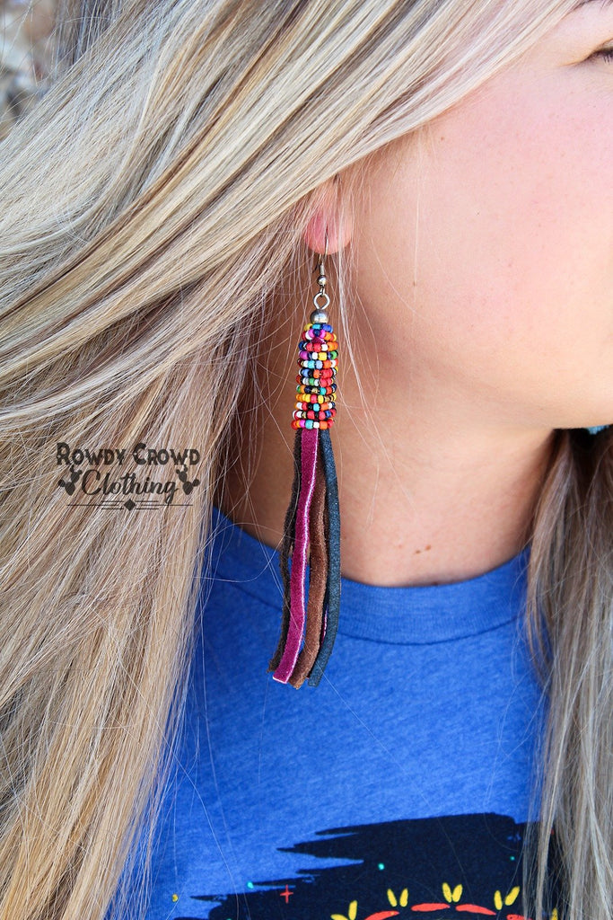 Bowan Beaded Earrings
