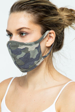 Camo Masks - Adult