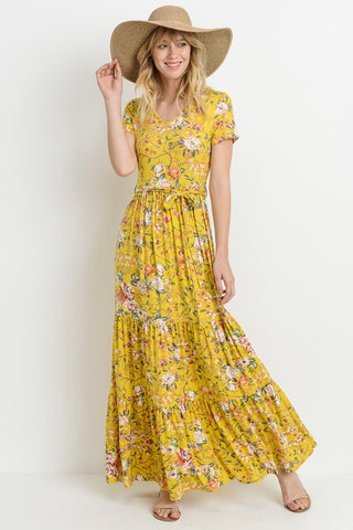 Mallory Floral Maxi