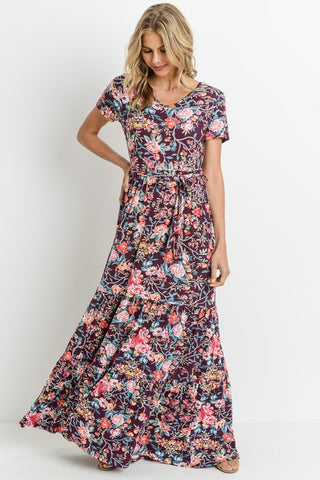 Hilary Floral Maxi