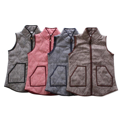 Women's Herringbone Vest