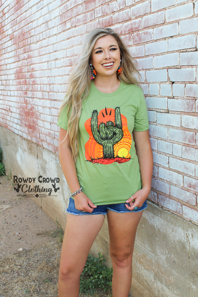 Rock On Cactus Tee