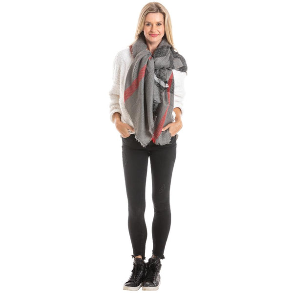 DOORBUSTER: Plaid Scarves