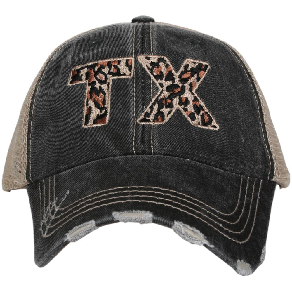 TX Texas Leopard State Hat