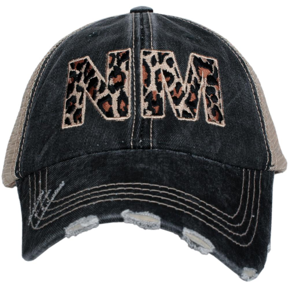 NM New Mexico Leopard State Hat