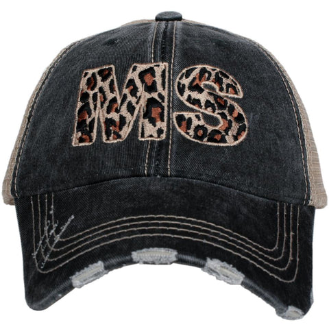 MS Mississippi Leopard State Hat