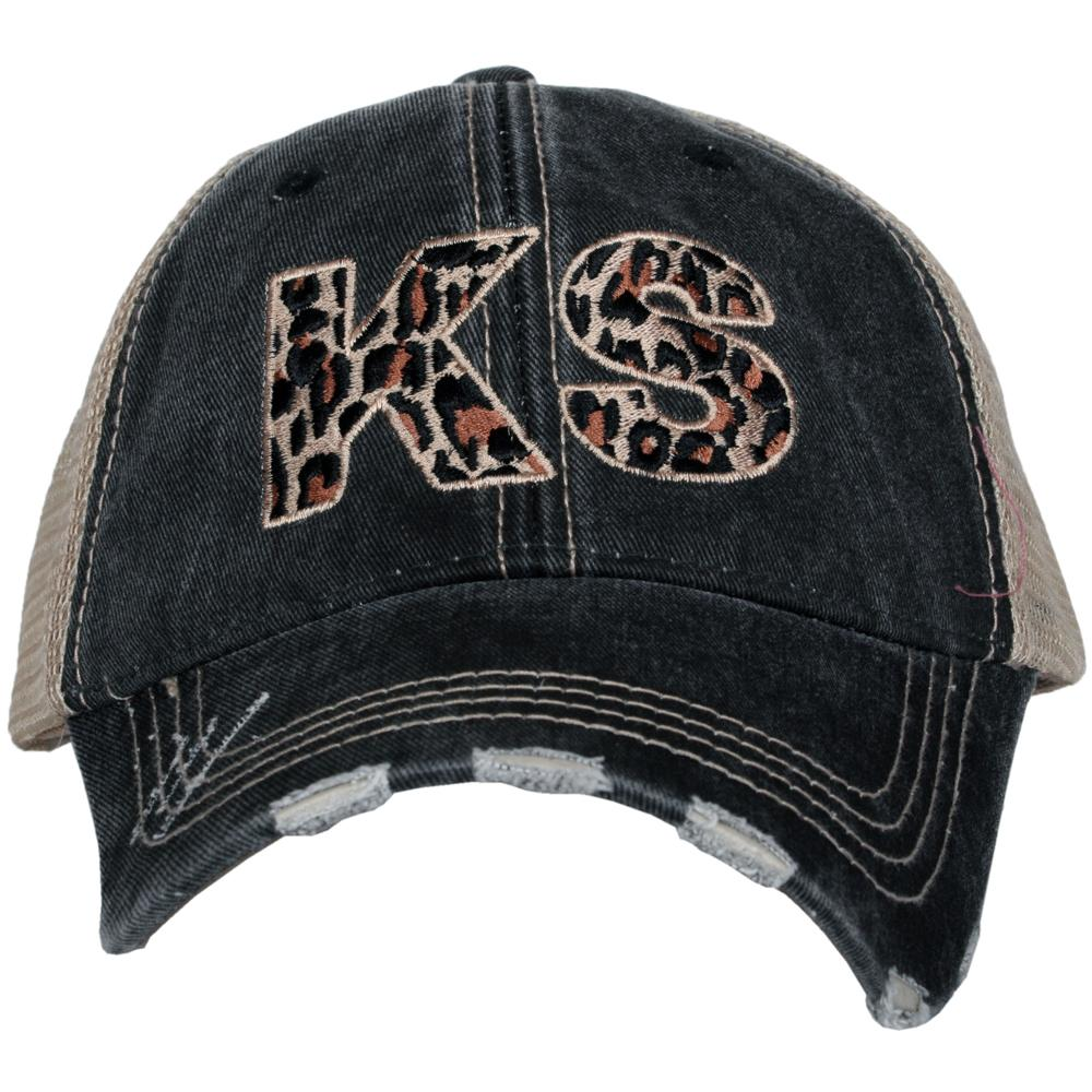 KS Kansas Leopard State Hat